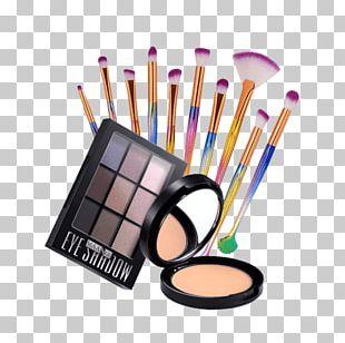Eye Shadow Make-up Face Powder Makeup Brush PNG