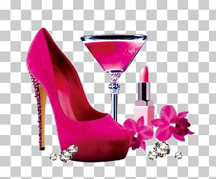 High-heeled Footwear Shoe Red Absatz PNG