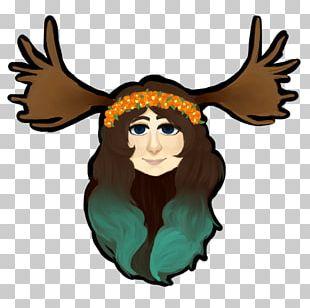 Reindeer Moose Illustration Antler PNG