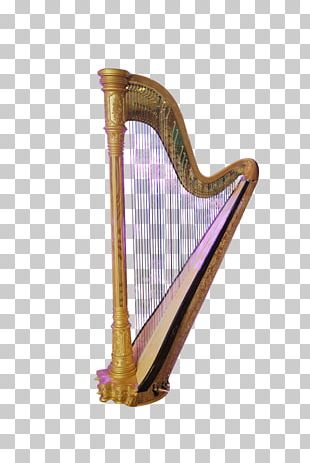 Harp Musical Instrument Icon PNG