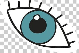 Animation Eye Drawing PNG