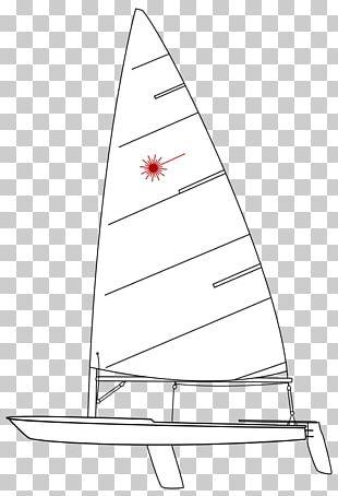 Kiel Week Laser Dinghy Sailing PNG