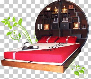 Bed Frame Mattress Futon Tatami PNG