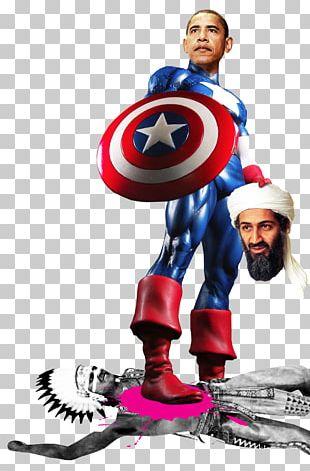Osama Bin Laden Captain America Cartoon Muslim Brotherhood PNG