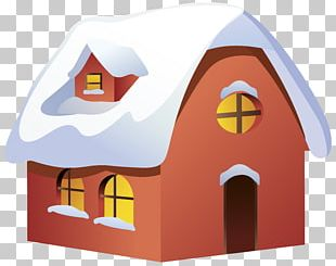 Winter House PNG