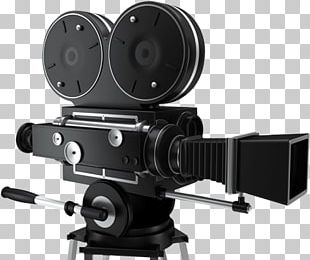 Vintage Cinema Camera PNG