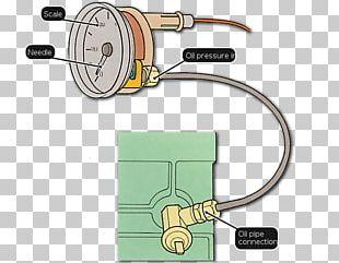 Motor Oil Pressure Measurement Gauge PNG