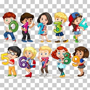 Child Number Stock Photography Illustration PNG