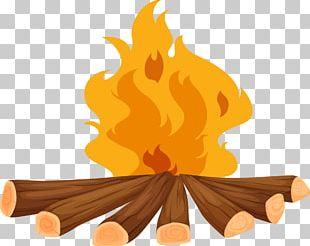 Camp Firewood Heap PNG