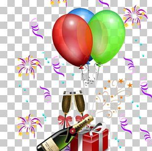Birthday Party Feestversiering Balloon PNG