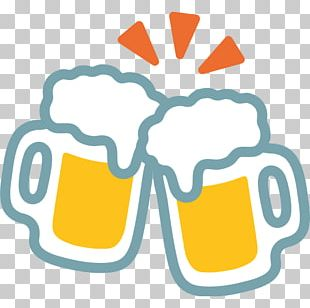 Beer Glasses Emoji Mug Drink PNG