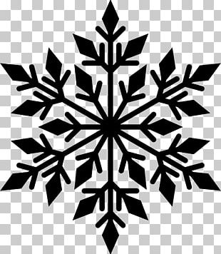 Snowflake Silhouette PNG