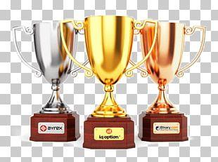 Trophy Gold Medal Silver Award PNG