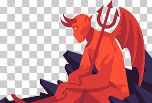 Devil Cartoon Illustration PNG