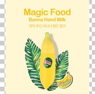 Green Tea Tony Moly Magic Food Banana Hand Milk Tony Moly Magic Food Banana Hand Milk TONYMOLY Co. PNG