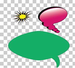Bubble Speech Balloon Dialogue PNG