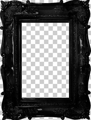 Frame Mirror Antique PNG