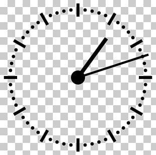 Digital Clock Clock Face Analog Signal 12-hour Clock PNG