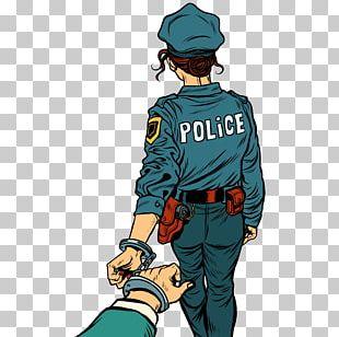 Police Officer Arrest PNG