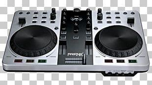DJ Controller Disc Jockey MIDI Controllers Gemini FIRSTMIX PRO USB DJ MIDI Controller Mixer Computer Software PNG