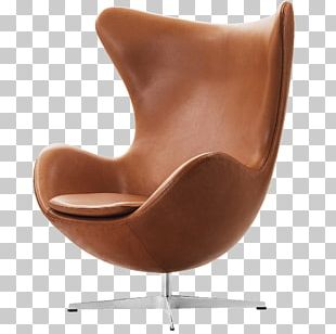 Egg Eames Lounge Chair Fritz Hansen Leather PNG