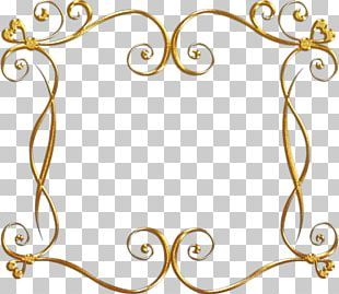 Frames Portable Network Graphics Gold Ornament PNG