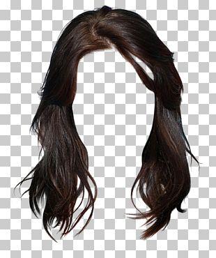 Long Hair Brown Hair Black Hair Hairstyle PNG