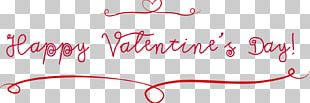 Valentine's Day Dia Dos Namorados Typeface Font PNG