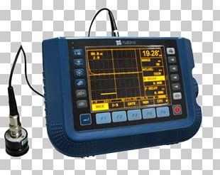 Ultrasound Ultrasonic Thickness Gauge Sensor Nondestructive Testing Ultrasonic Thickness Measurement PNG
