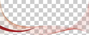 Red Wavy Line Shading PNG