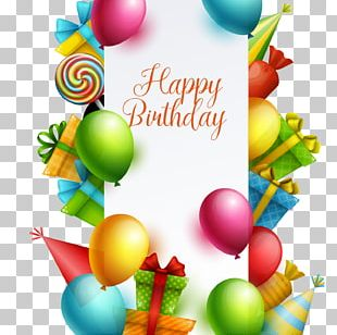 Happy Birthday Card! PNG