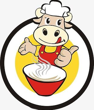 Beef Noodle Logo PNG