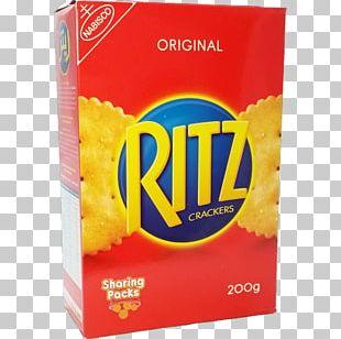 Junk Food Ritz Crackers Nabisco Snack PNG