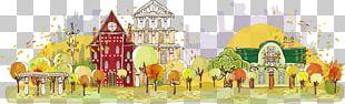 Cartoon Autumn Illustration PNG