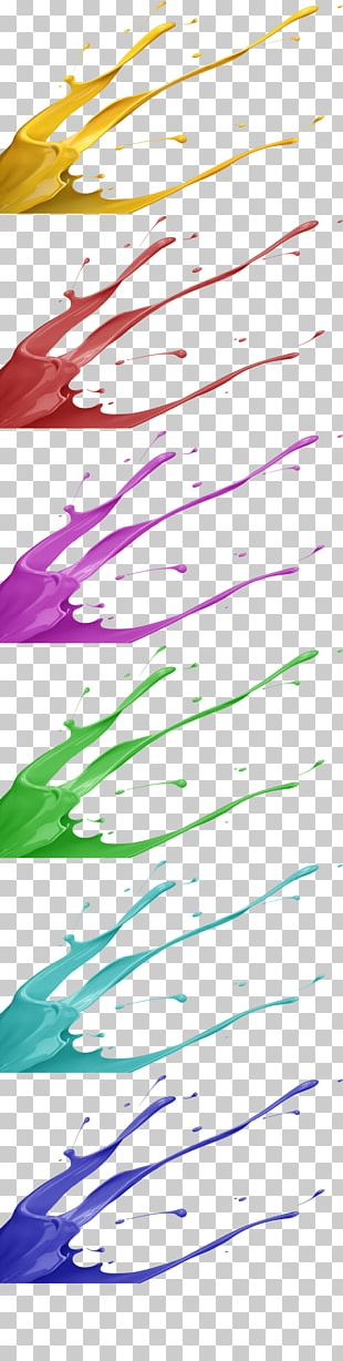 Juice Pigment Color PNG