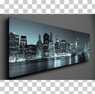 Manhattan Skyline Stock Photography PNG