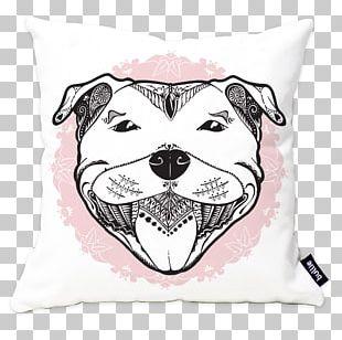 Cushion Throw Pillows Staffordshire Bull Terrier PNG