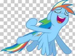 Rainbow Dash Flight PNG
