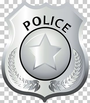 Badge Police Officer Lapel Pin PNG