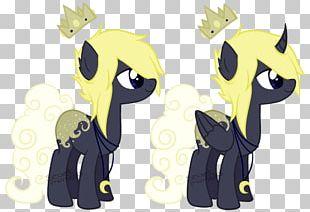 Cat Horse Cartoon Character PNG