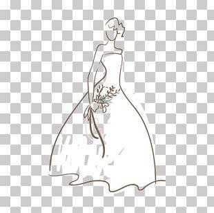 Wedding Dress White Bride PNG