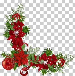 Christmas Decoration Flower PNG