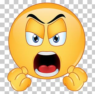 Angry Emojis Anger Emoticon Sticker PNG