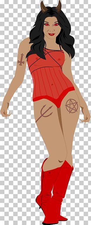 Devil Demon Woman PNG