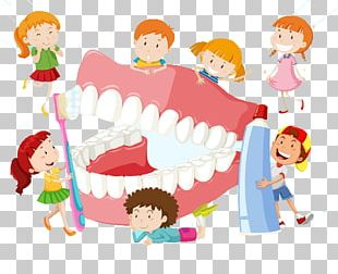 Dentistry Tooth Brushing Child PNG