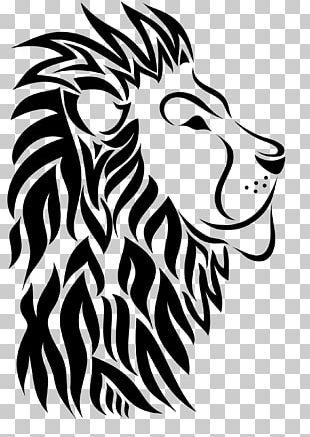 Lionhead Rabbit Tattoo PNG