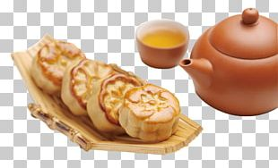 Mooncake Stuffing Mid-Autumn Festival Poster PNG