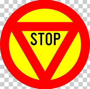 Priority Signs Stop Sign Traffic Sign Yield Sign PNG