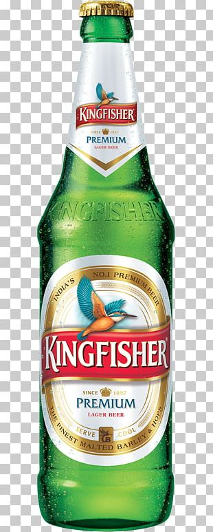 Lager Beer In India Kingfisher Distilled Beverage PNG