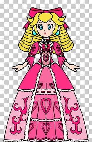 Princess Peach Princess Daisy Rosalina Art Rococo PNG